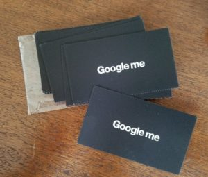 Just google me auditing algorithms as a response a group of designers at our workshop produced and distributed business cards with the following text reheart Images